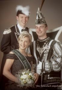 2005 - Prins Roy I Knops, Prinses Diane, Minister Micha Heckmans
