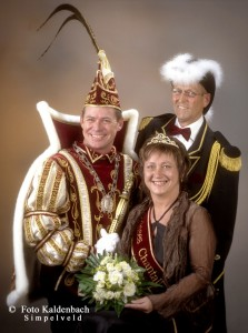 2006 - Prins Ton I, Prinses Chantalle Klinkers, Minister Thei Wessels